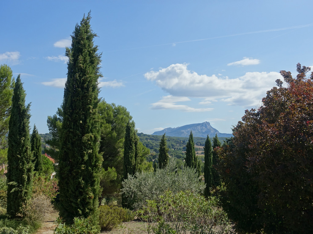 Terrain des Peintres - Blick auf die Montagne Sainte-Victoire