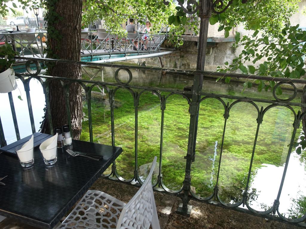 Blick von der Restaurant-Terrasse