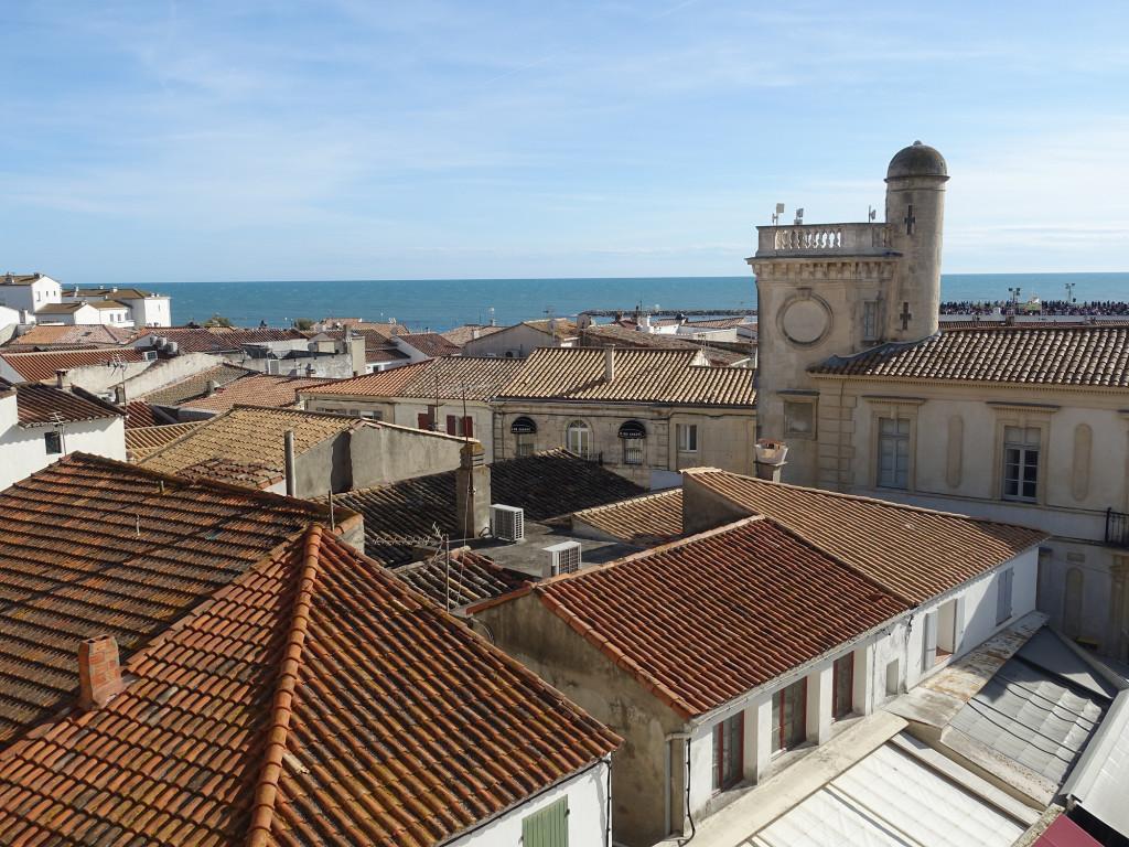 Les-Saintes-Maries-de-la-Mer - Blick vom Dach der Wehrkirche