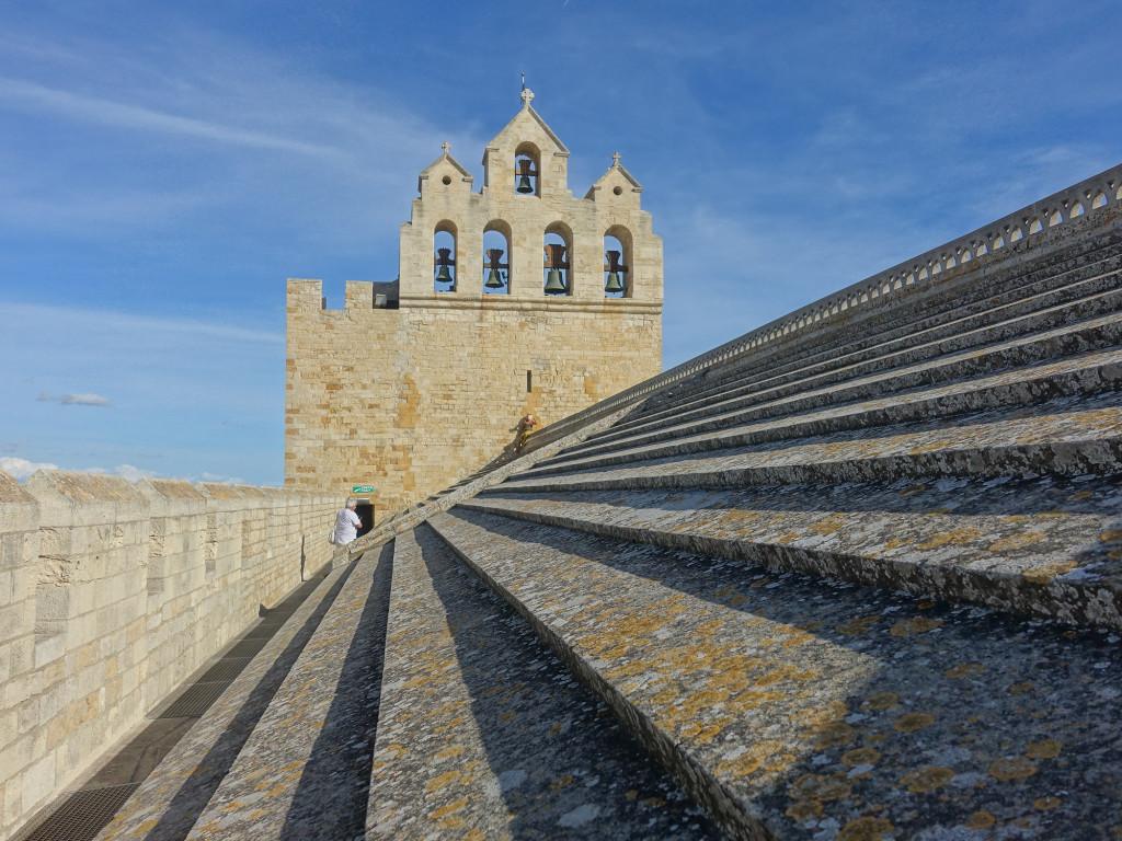 Les-Saintes-Maries-de-la-Mer - auf dem Dach der Wehrkirche