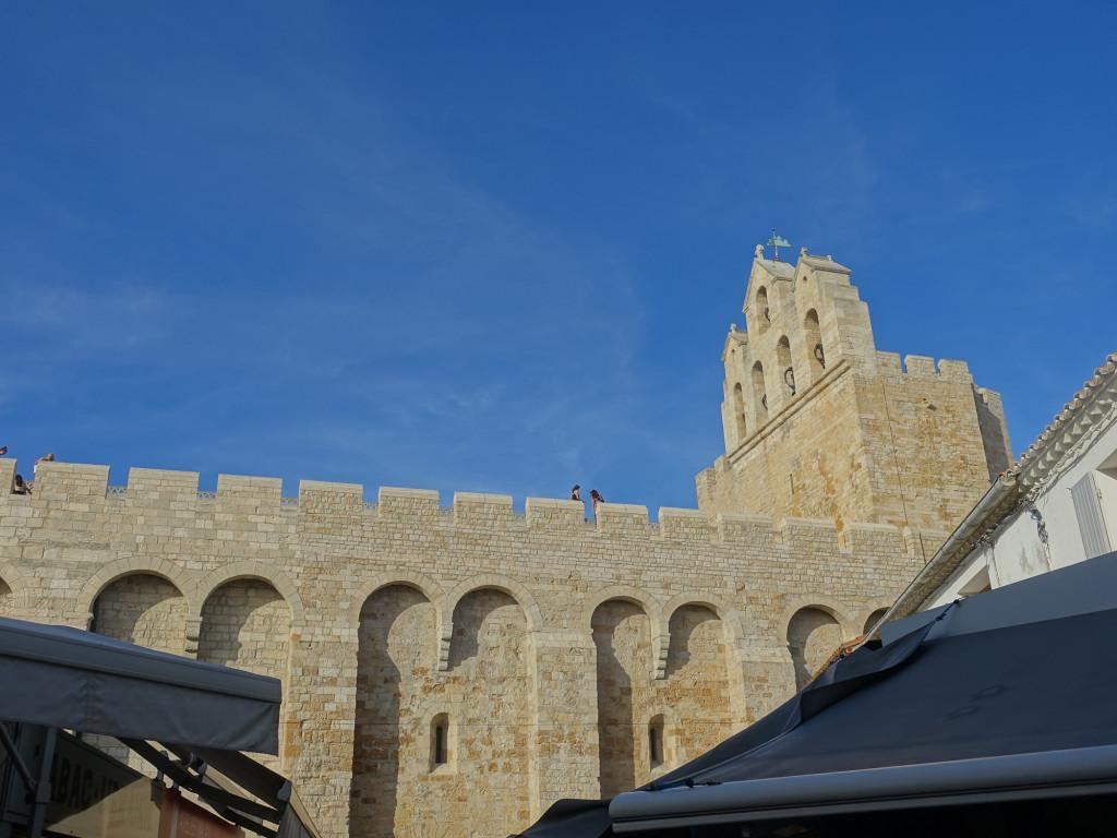 Les-Saintes-Maries-de-la-Mer - die Wehrkirche