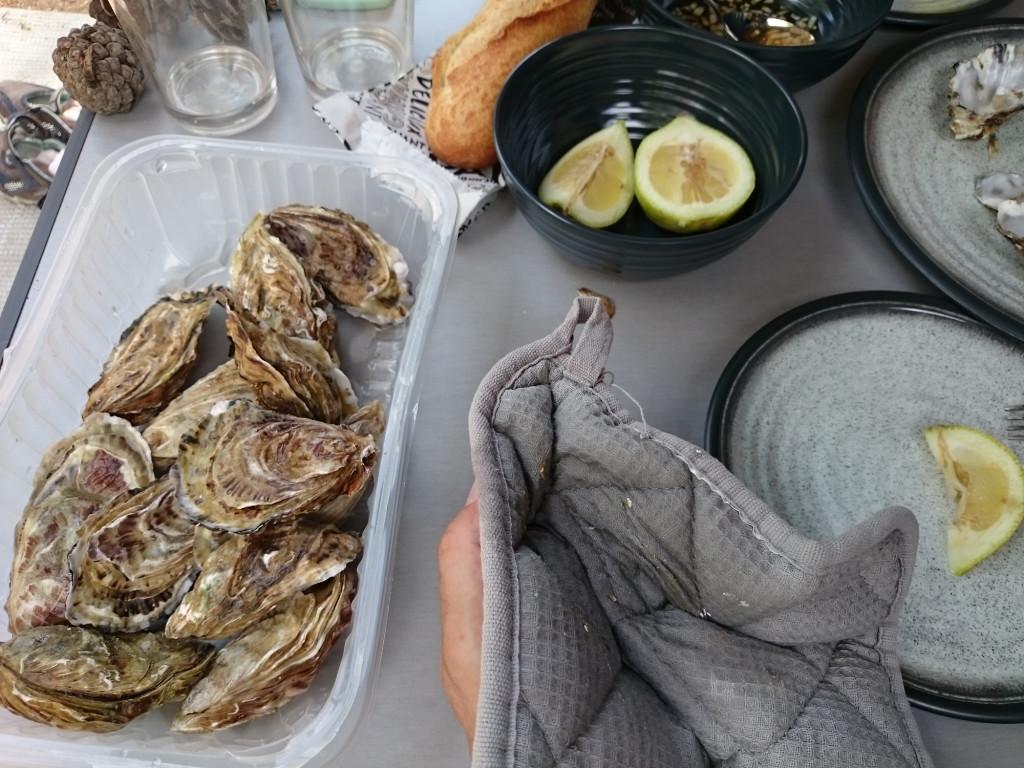 Die Austern waren eine harte Nuss ...