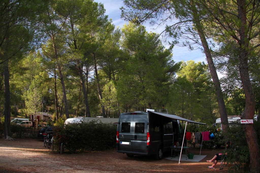 Campingplatz Huttopia Fontvieille