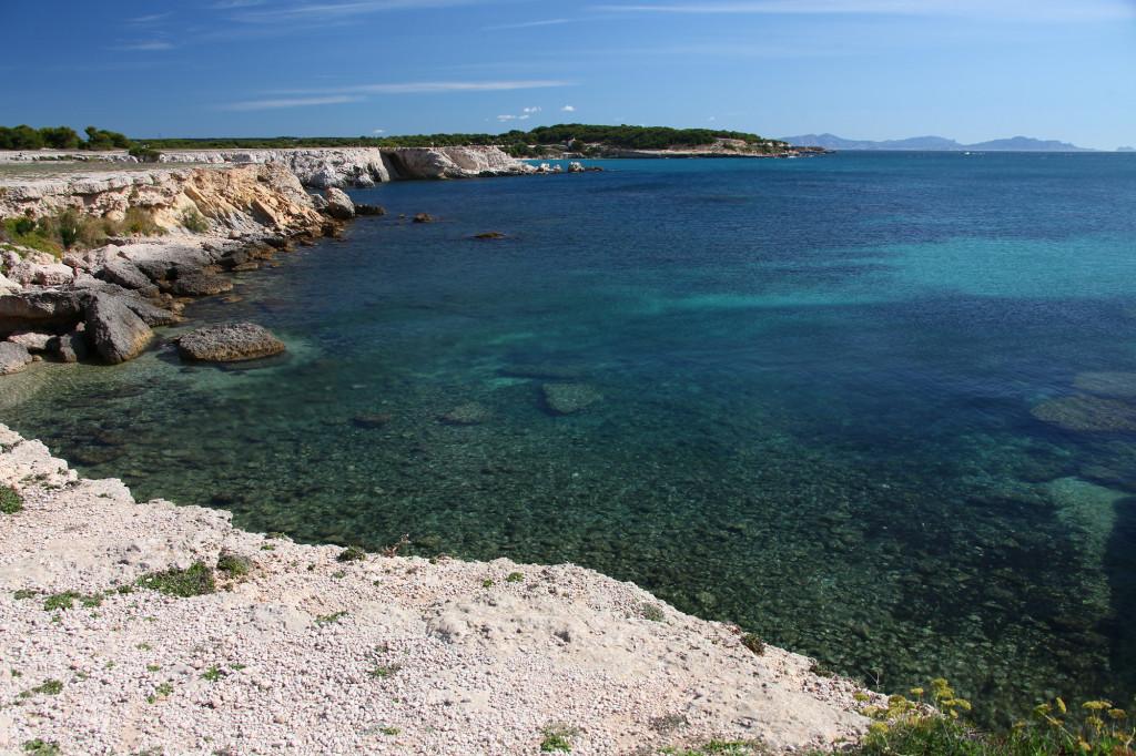 """Côte Bleue - hier wird deutlich, woher die """"Blaue Küste"""" ihren Namen hat"""