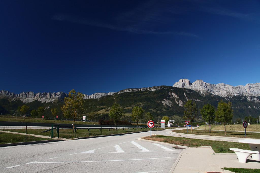 Landschaft südlich von Grenoble