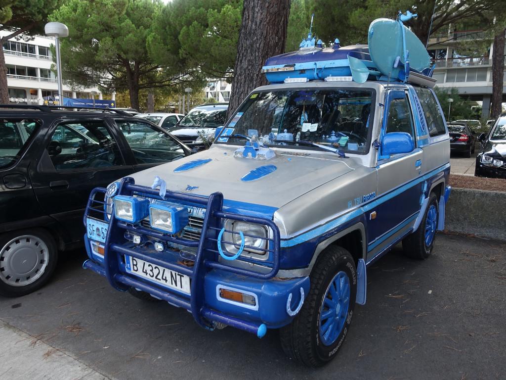 Da hat ein Spanier viel Zeit in sein Fahrzeug investiert