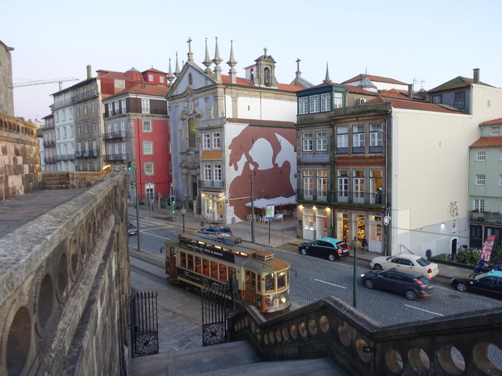 Die historische Straßenbahn
