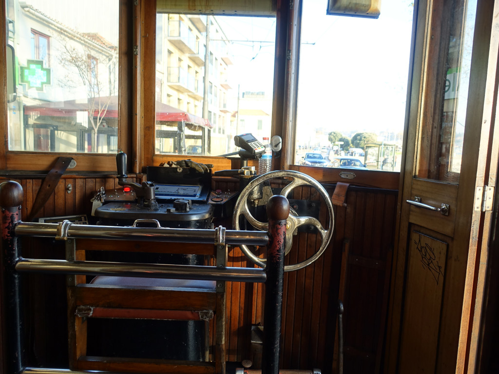 Fahrt in der historischen Straßenbahn
